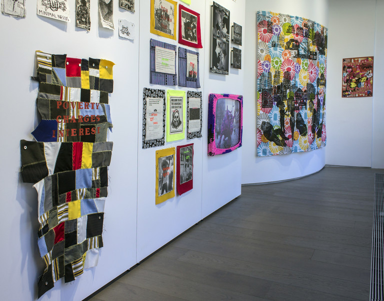 Installation view of 'Political Intimacy'