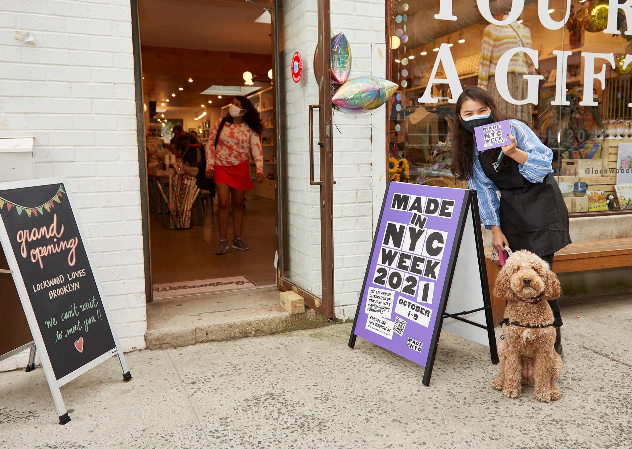 Made in NYC Week at the grand opening of Lockwood in Williamsburg (courtesy Made in NYC/Constance Faulk Photography)